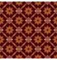 brown seamless geometric texture vector image vector image