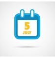 Calendar Icon - date vector image vector image