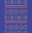 ethnic handmade traditional tribal motif texture vector image