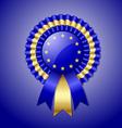 European rosette vector image vector image