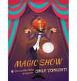 Magic Show Poster vector image vector image