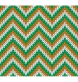 Retro Style Seamless Knitted Pattern vector image vector image