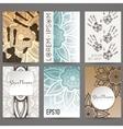 Set of design templates Brochures in vector image vector image