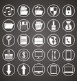 Technology icon design vector image vector image