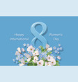 Women s day greeting card