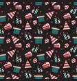 birthday seamless wallpaper in vector image vector image