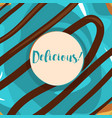 donuts with glaze vector image vector image