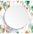 Flag of Ireland vector image vector image