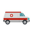 medical aid icon flat style vector image