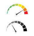 speed test internet measure speedometer icon fast vector image