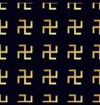 swastika seamless pattern rotating cross vector image vector image