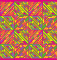 abstract seamless op art pattern color pop vector image vector image