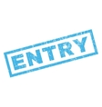 Entry Rubber Stamp vector image vector image