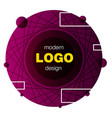 minimalistic design creative concept modern vector image vector image
