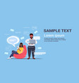 people using gadgets online application social vector image vector image