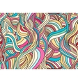Seamless abstract pattern with waves vector image vector image