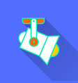spotlight - icon for graphic and web design vector image vector image