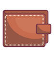wallet save documents vector image