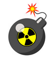 atomic bomb isolated vector image