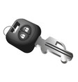 car key and car symbol vector image vector image