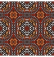 geometric ethnic tribal indian print vector image vector image