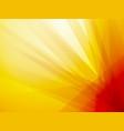 orange ray dark background vector image vector image