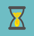 time is money business concept vector image