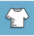 Icon tshirt vector image