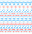christmas seamless pattern nordic style vector image vector image