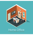 Freelance home office concept vector image vector image