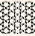 geometric seamless pattern with hexagonal grid vector image vector image
