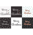 Greeting Card with hand drawn lettering vector image vector image
