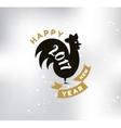 Happy New Year typographic design vector image vector image