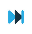 next colorful icon symbol premium quality vector image vector image