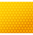 Seamless abstract honeycomb pattern vector image