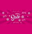 super sale banner discount banner vector image