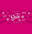 super sale banner discount banner vector image