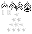US police insignia vector image vector image