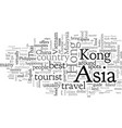 asia safety travel tips vector image vector image