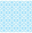 Blue decorative pattern vector image vector image