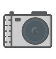 camera colorful line icon photo and capture vector image vector image