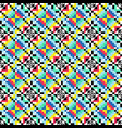 color repeating pattern abstract decorative vector image vector image