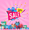 discount sales proposition vector image vector image