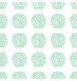 ethnic boho hand drawn seamless floral patterns vector image