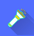 flashlight - icon for graphic and web vector image