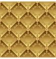 golden pattern vector image