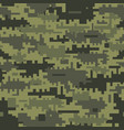green camouflage seamless pattern vector image vector image