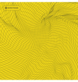 Grid Background 3d Technology vector image vector image