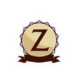 modern logo solution letter z vector image