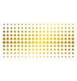 peaks suit golden halftone effect vector image vector image